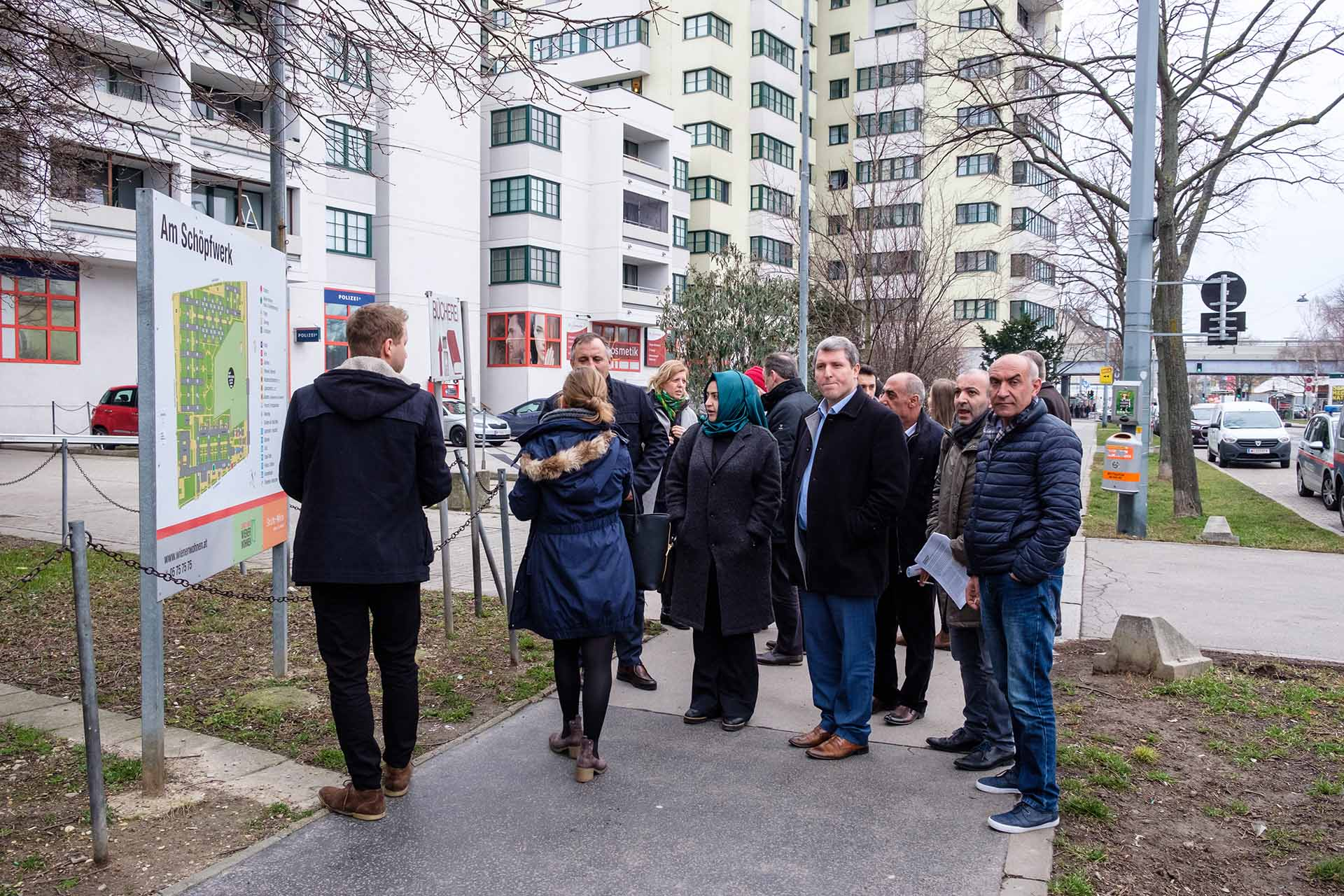 NOW Mayors' Network - Field Exposure in Vienna, January 2018