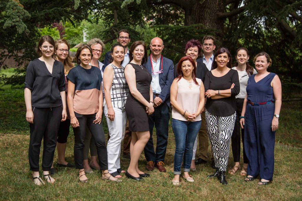 NOW Working Group Exploitation -  Group Picture, First Meeting in Vienna, June 2017