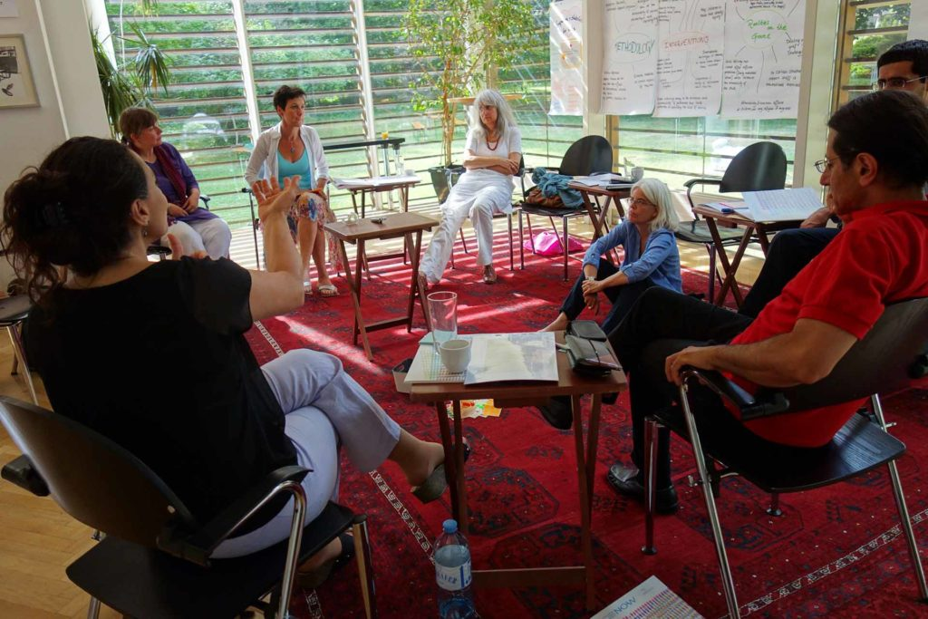 NOW Working Group Trauma Surviving - 1 Meeting in Vienna, June 2017
