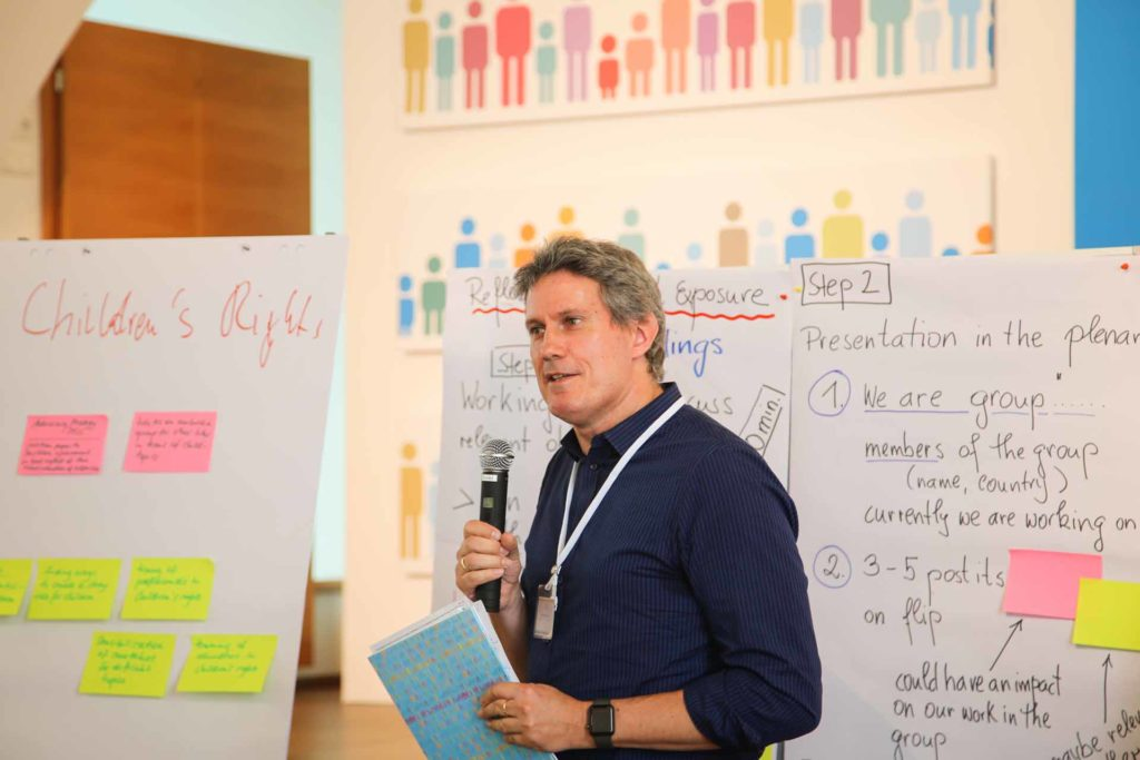 Helmut Sax, Host of the NOW Working Group Children's Rights - Networking Meeting June 2018